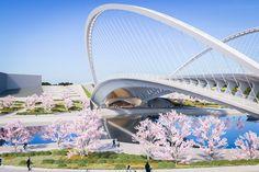 Gallery of Santiago Calatrava Designs 3 New Bridges for Huashan - 6