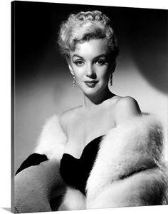 Marilyn Monroe Hollywood Glamour Poster Art Photo Artwork or Lady Gaga, Joe Dimaggio, Divas, Classic Hollywood, Old Hollywood, Hollywood Stars, Fotos Marilyn Monroe, Glamour Hollywoodien, Portrait Studio