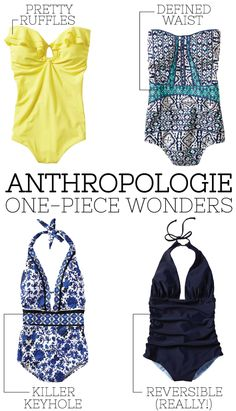 @Anthropologie one-piece wonders.