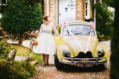 Budget-Friendly, DIY & Colourful Village Hall Wedding: Abby & Liam