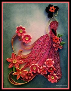 25 Beautiful Quilling Flower Designs and Paper Quilling Cards | Read full…