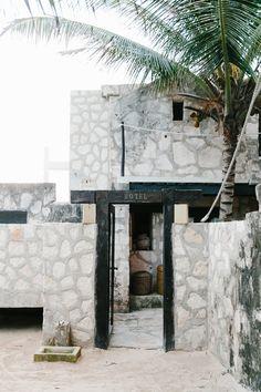 coqui coqui hotel exterior in tulum | via coco kelley