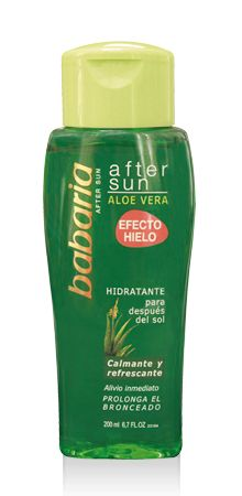 AFTER SUN GEL ALOE VERA | babaria