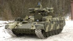Overkill doesn't begin to describe the Uralvagonzavod BMPT, it's more like an armory with treads—four Ataka anti-tank missile launchers, a 7.62 machine gun, dual 30-mm AGS-17 automatic grenade launchers and a two-man turret with dual 30mm cannons on top.