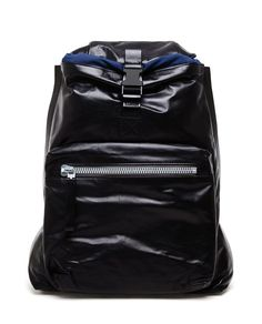 LANVIN | Leather and Techno-canvas Backpack | Browns fashion & designer clothes & clothing