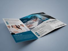 Trifold Brochure 2 by Design'sTRIBE on @creativemarket