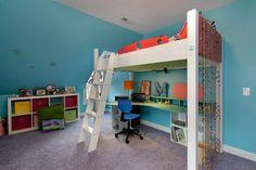 Lit mezzanine pour une chambre d'ado originale