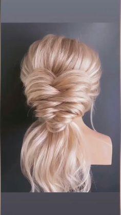 Bow Hairstyle Tutorial, Pageant Hair, Hair Up Styles, Bridal Hair Updo, Hair Affair, Grunge Hair, Bride Hairstyles, Hair Trends, Braids