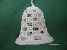 S7301002 Christmas Crochet Patterns, Decorative Bells, Aesthetic Art, Christmas Crafts, Bell Jars