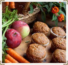 Recette de muffin sans gluten pommes-carottes