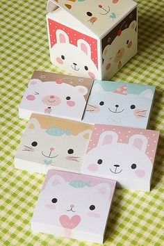 Mixed Box Memo Set - pookiedookie