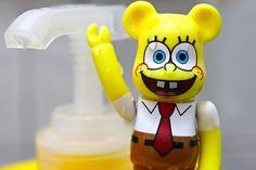 Bearbrick spongebob