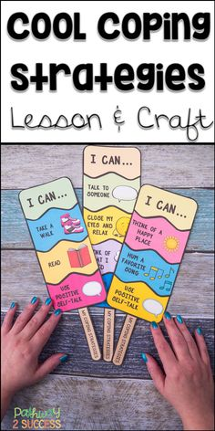 Teach coping strategies with a fun and interactive ice pop craft! Kids learn about coping strategies and then create their own pop that illustrates the strategies they want to try. Perfect for small groups to teach skills to manage emotions. Kids Coping Skills, Coping Skills Activities, Art Therapy Activities, Time Activities, Social Emotional Learning, Social Skills, Homeschool Kindergarten, Preschool, Classroom Behavior