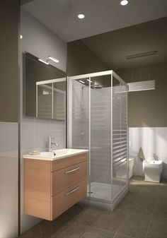 Progetta il tuo Bagno on Pinterest  Galleries, Merlin and ...