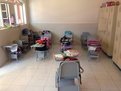 Classroom in orphanGe in Mexico