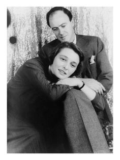 roald dahl and patricia neal, 1954.