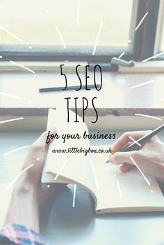We all know how complex SEO (search engine optimisation) can be, so we have put together 5 SEO Tips to help you in your business. This is just a quick overview of 5 things that are important in SEO and that can help with your SEO Ranking.