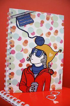 Cuadernos:  www.facebook.com/storerobertita Ilustration by Robertita Superstar www.robertita.com.ar