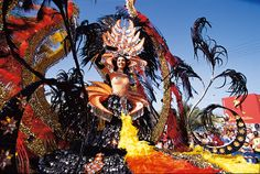 Santa Cruz Carnival, Tenerife, 6-17 February The Carnaval de Santa Cruz in Tenerife attracts half a million visitors to this Canary isle for a week-long event that goes down in a blaze of glory with a 24-hour party… and the burning of a massive papier-maché sardine