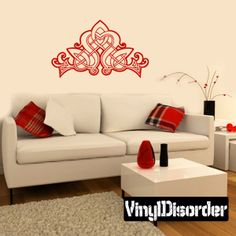 Celtic Wall Decal - Vinyl Decal - Car Decal - DC 8137