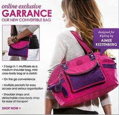 Bag I designed for Kipling!