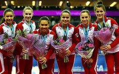 Team Canada - Women's 2012 Olympic Gymnastics Team! We'll be watching! - www.london2012.com #gymnastics #london2012 #olympics