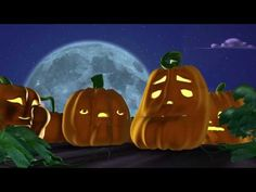 Singing Pumpkins 3D Animation Halloween 2006 - Great way to show styles of music for little ones!