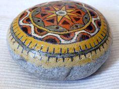 Mandala stone 7