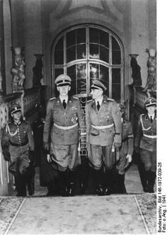 One of the most important covert operations of the Second World War, Operation Anthropoid was the assassination of Reinhard Heydrich, the Nazi commander Ww2 Uniforms, Prague Castle, The Third Reich, Walk The Earth, Military History, World War Two, Wwii, Germany, Police