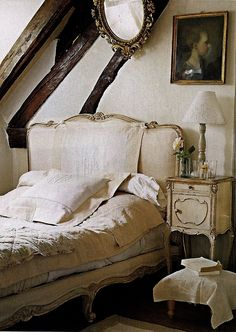 Charming French Attic