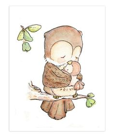 Children's art print My BABY Collection-my baby owl Etsy The post Children Art Print MY BABY Collection- My Baby Owl Print Nursery Art Home Decor appeared first on Best Pins for Yours - Drawing Ideas Art Mignon, Owl Print, Baby Owls, Owl Babies, Baby Art, Illustrations, Cute Illustration, Nursery Art, Themed Nursery
