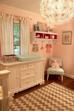 Sweet Blush baby girl nursery
