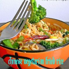Chinese Vegetarian Fried Rice by foodybuddy