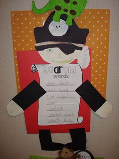 """Crayon Confessions: """"AArgh"""" you Enjoying Phonics Instruction & Spring?"""