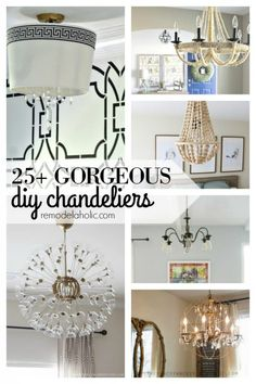 77 best diy chandelier inspiration images on pinterest how to install recessed lights without attic access aloadofball Gallery