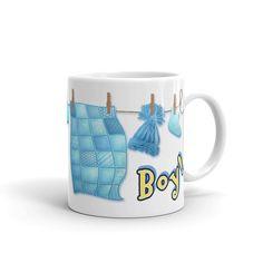 Ceramic Mug Kid Baby Boy Nappy Diaper Panties Socks Mom Dummy Rope Dry Bear Cap #EVERYPRINTDesignBay #AllOccasions Baby Kids, Baby Boy, Microwave, Dishwasher, Socks, Cap, Ceramics, Mugs, Drink