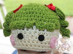Hey, I found this really awesome Etsy listing at https://www.etsy.com/listing/108491516/baby-hat-green-baby-girl-hat-lala-loopsy