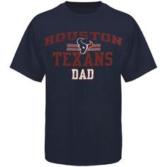 Houston Texans Dad Father's Day T-Shirt