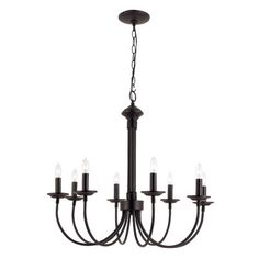 Found it at Wayfair - New Century 8 Light Chandelier
