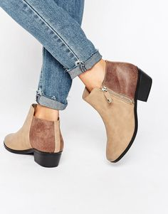 Image 1 - Call It Spring - Marguarite - Bottines style western plates - Taupe
