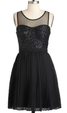 I want this - but in silver or gold - for New Years Eve.