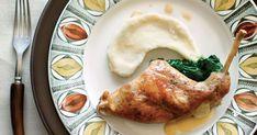 Une délicieuse recette de sauté de lapin à la moutarde de Dijon présentée par foodlavie. Pork, Chicken, Yummy Recipes, Mustard, Rabbits, Food, Kale Stir Fry, Pigs, Pork Chops