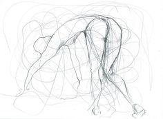 Figurative Pencil Sketch by philippahadleycoates on Etsy