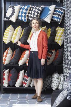 Creative women at work: designer Charlene Mullen - That's Not My Age