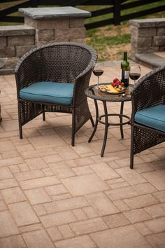 Get a more historic, lived-in look- try Eagle Bay's GrandCay Cobbled pavers for your patio, walkway or driveway.