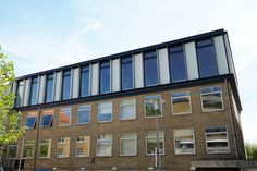 Aluminiumfronts on Aarhus Health Center Aarhus, Health Center, Multi Story Building