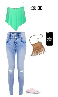 """""""Untitled #485"""" by madalena-rato ❤ liked on Polyvore featuring Converse, Patchington and Casetify"""