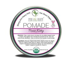 Pixie Kitty Pomade Strong Arm Heavy Hold
