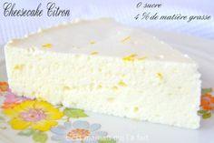 cheesecake citon pour diabete et régime