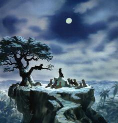 Visual Development from The Jungle Book - disney concept art Disney Pixar, Walt Disney, Animation Disney, Animation Film, Disney Love, Disney Characters, Disney Films, Concept Art Books, Disney Concept Art